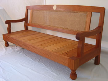 [Colonial West Indian Settee] by Austin Kane Matheson