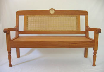 [Colonial West Indian Bench] by Austin Kane Matheson